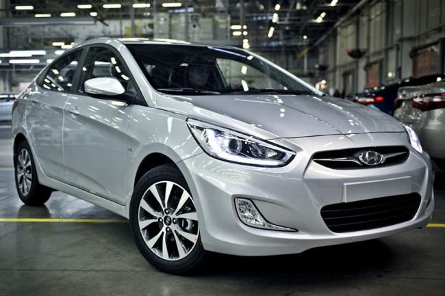 Предохранители и реле Hyundai Solaris