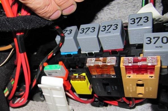 Дополнительный блок реле пассат б5
