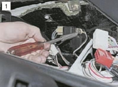 Реле зажигания, реле указателей поворота и аварийной сигнализацииВАЗ 2107