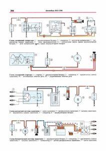 Схема электрических соединений ВАЗ 2106