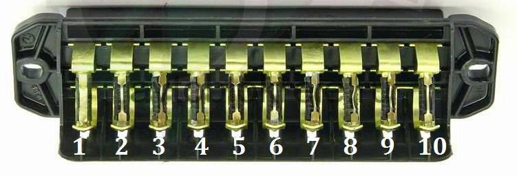 Схема предохранителей ВАЗ 2101(2102)