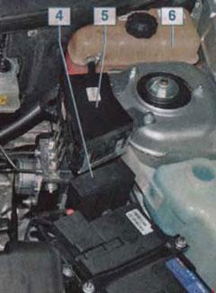 Дополнительный блок предохранителей в моторном отсеке
