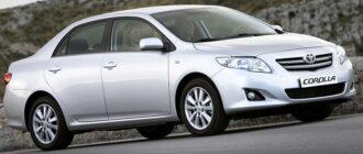 Блок реле и предохранителей Toyota Corolla E140/150