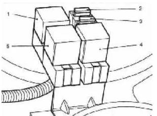 Блок предохранителей и реле ЗАЗ-110308