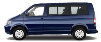 Предохранители и реле Volkswagen Transporter T5, схема и описание