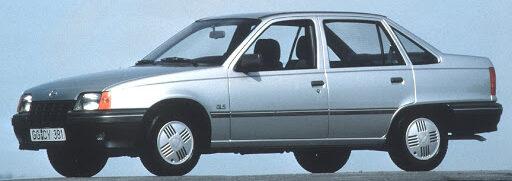 Блок предохранителей и реле Opel Kadett E, их описание
