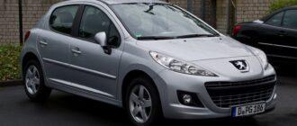Предохранители и реле Peugeot 207, схема и описание