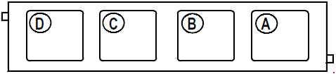 Схема блока реле в салоне Рено Меган 1, Сценик 1