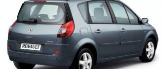 Предохранители и реле Renault Scenik 2, схема и описание