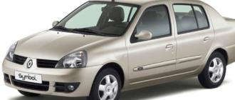 Предохранители и реле Renault Symbul, схема и описание