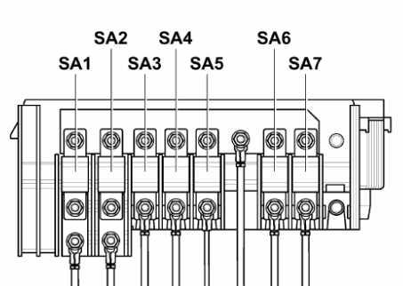 Схема плавких вставок высокой мощности Фольксваген Кадди