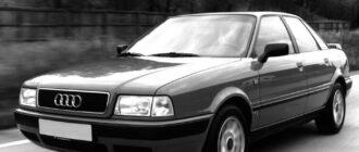 Предохранители и реле Audi 80 B4, схема и описание