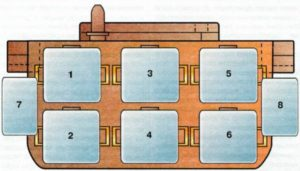 Дополнительный монтажный блок — №5 Ауди А6 С4
