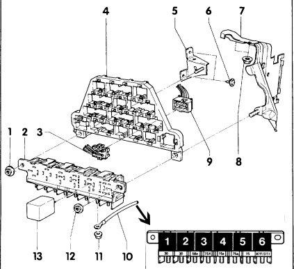 Центральное распределительное устройство — № 4 Ауди А6 С4