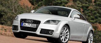 Предохранители и реле Audi TT, схема и описание
