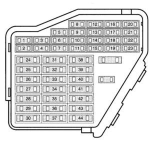 Схема блока для автомобилей серии N8